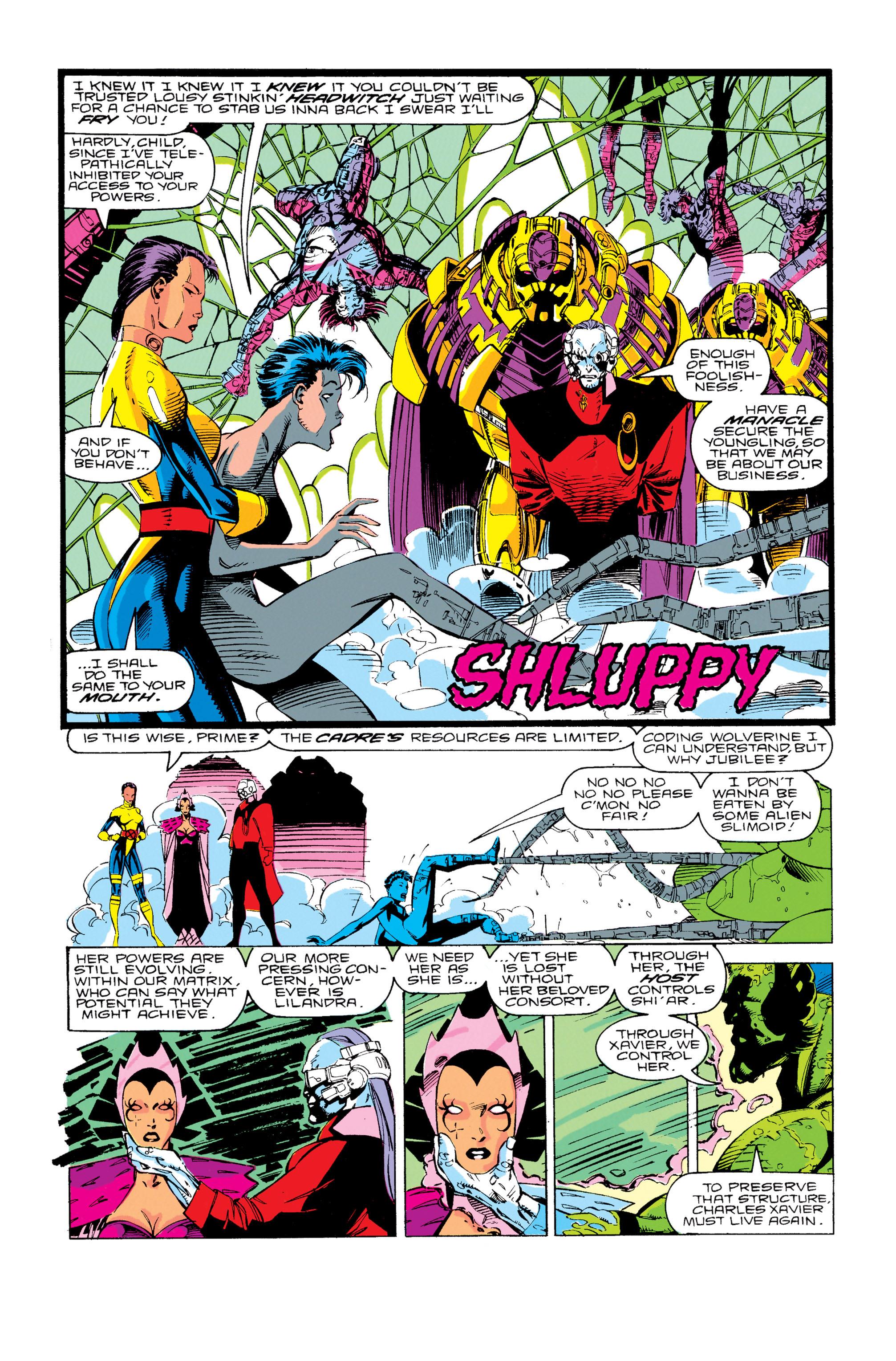 Read online Uncanny X-Men (1963) comic -  Issue #276 - 22