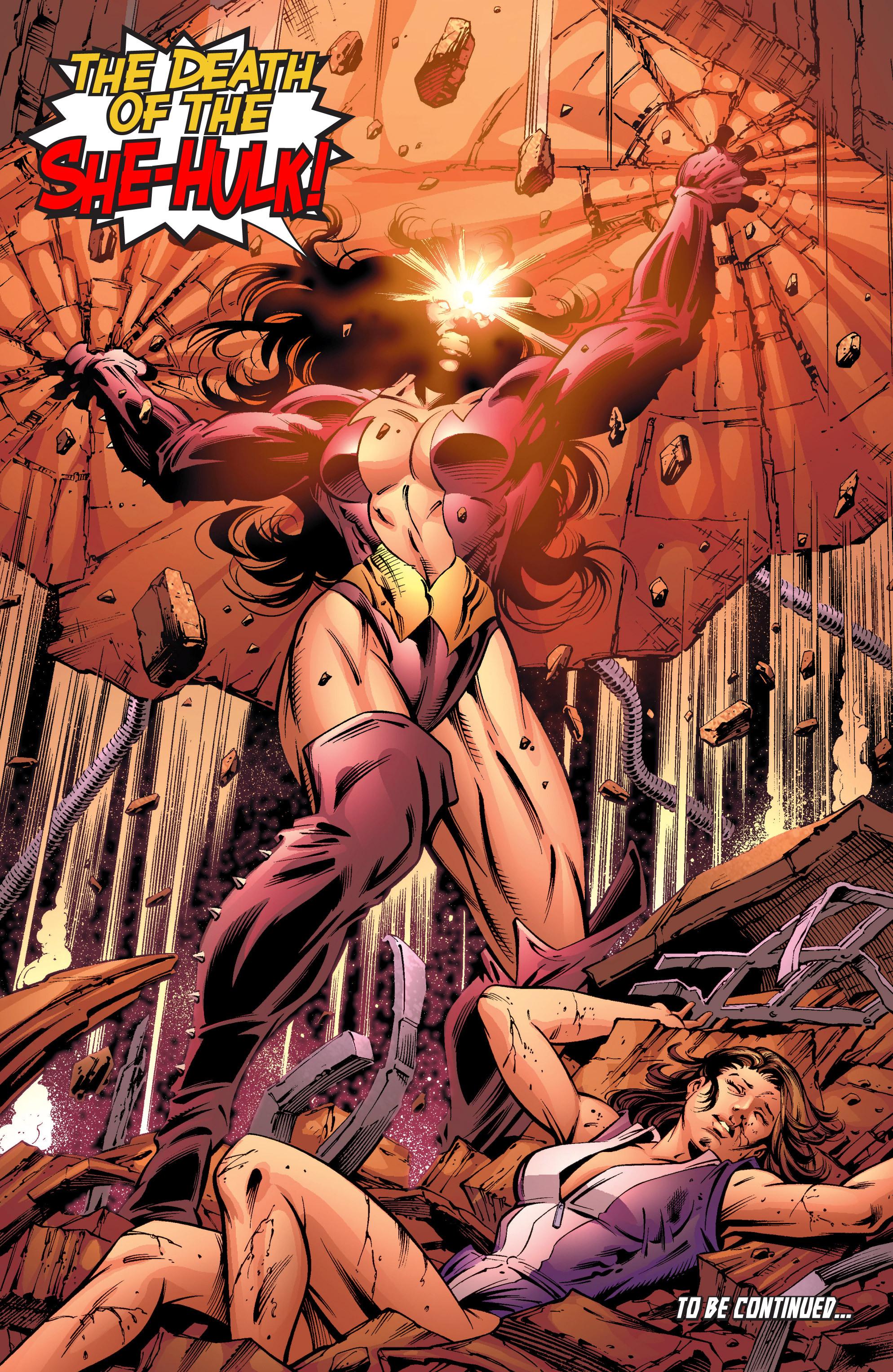 Read online She-Hulk (2004) comic -  Issue #11 - 23