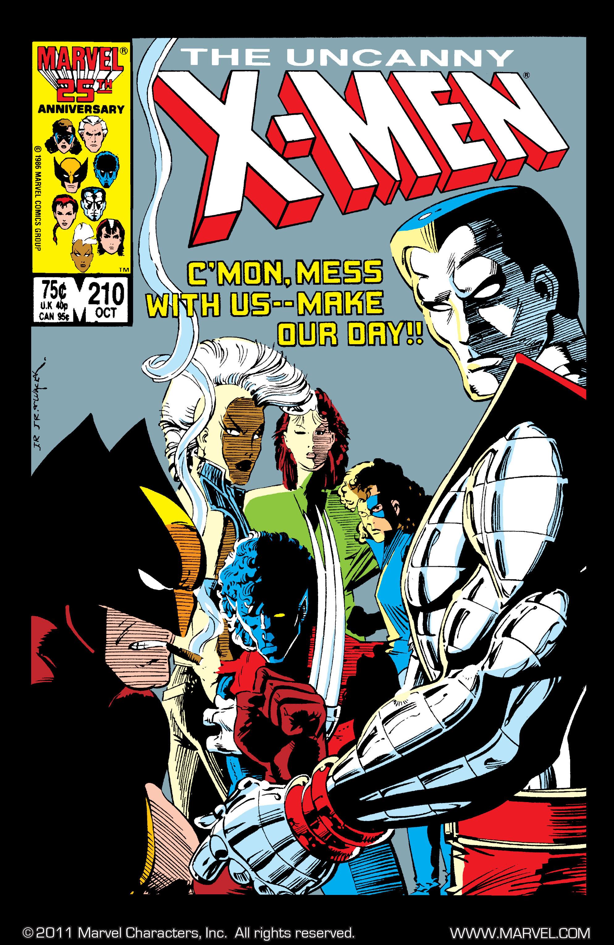 Read online Uncanny X-Men (1963) comic -  Issue #210 - 1