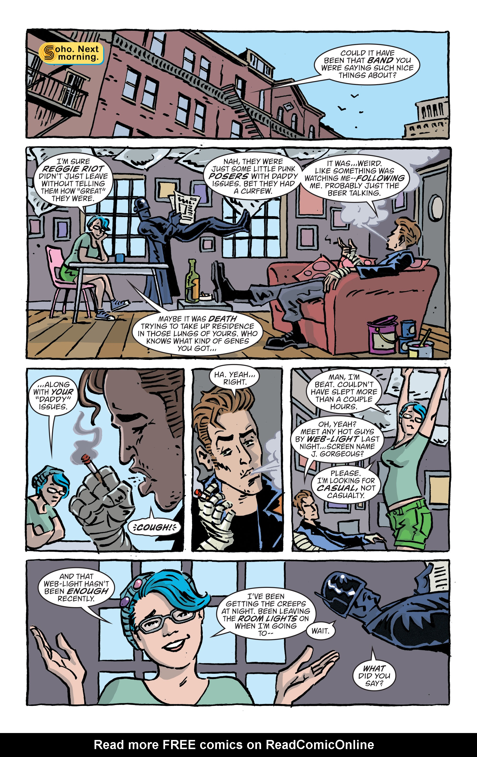 Read online Art Ops comic -  Issue #11 - 7