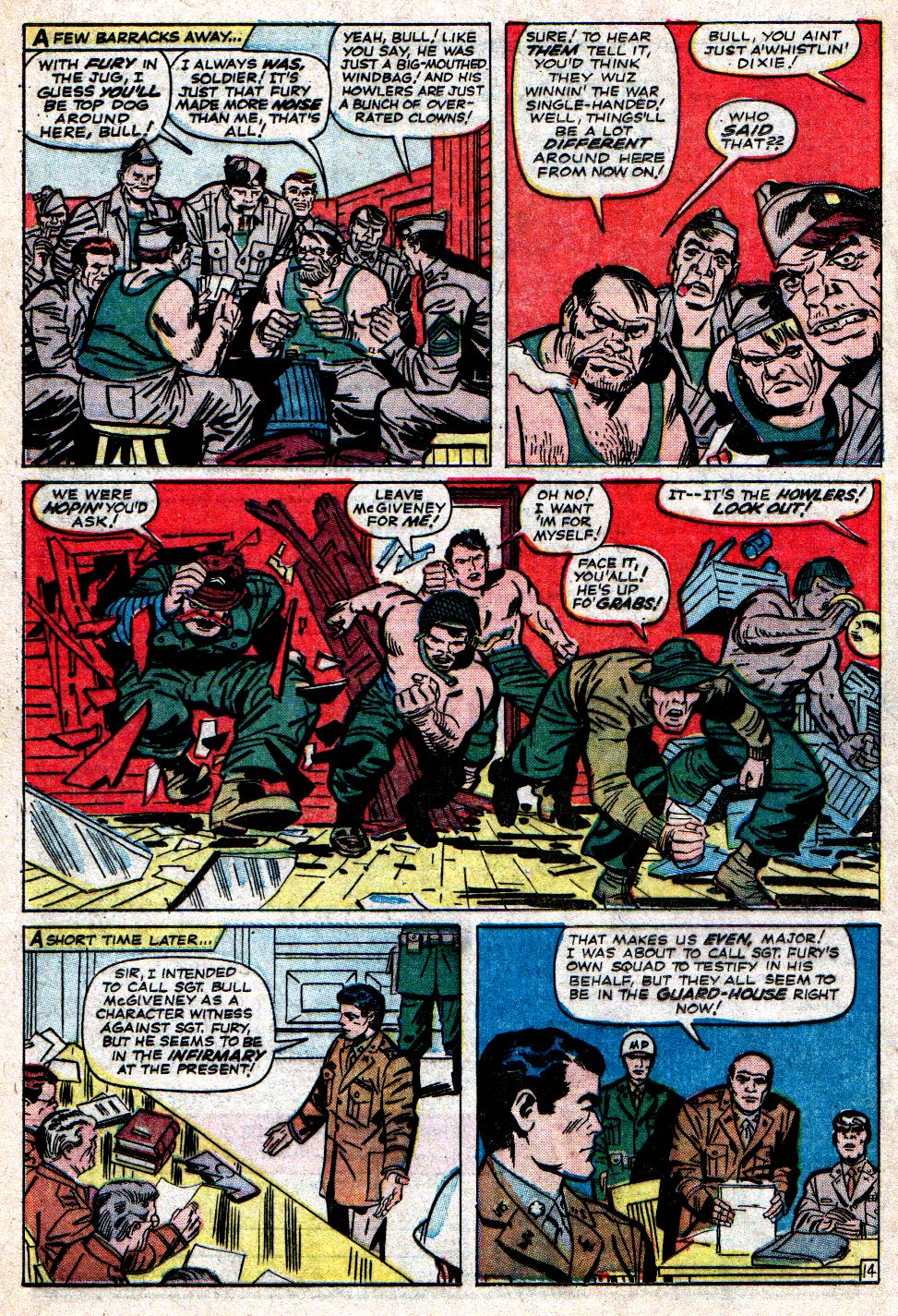 Read online Sgt. Fury comic -  Issue #7 - 20