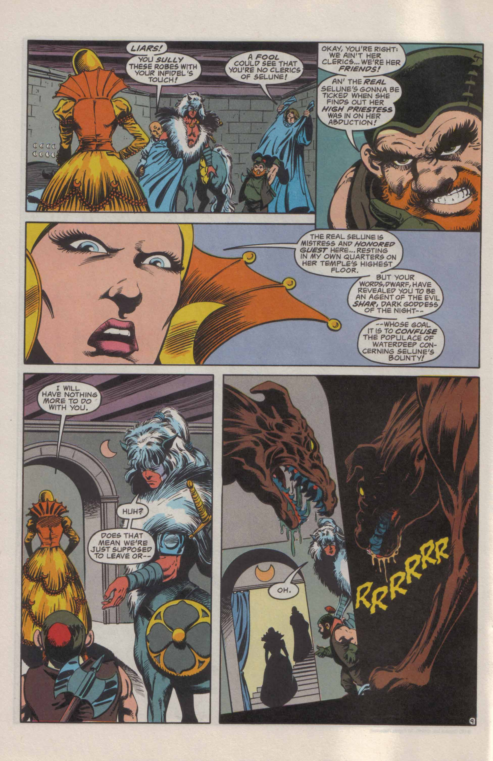 Read online Advanced Dungeons & Dragons comic -  Issue #21 - 10