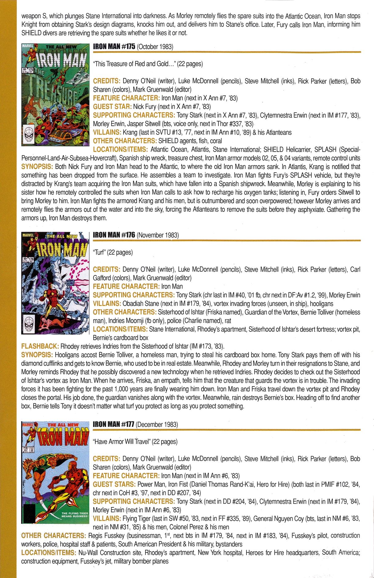 Read online Official Index to the Marvel Universe comic -  Issue #6 - 26