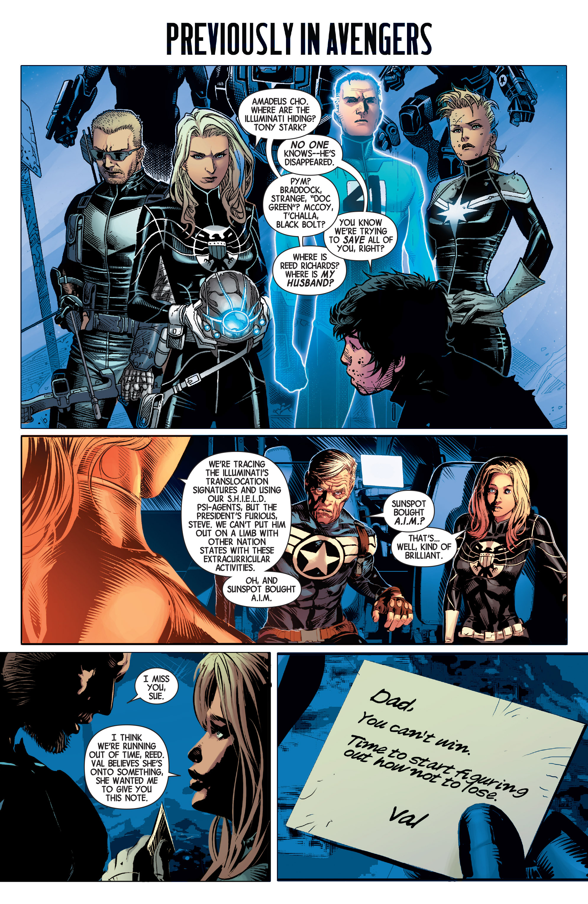 Read online Avengers (2013) comic -  Issue #39 - 2