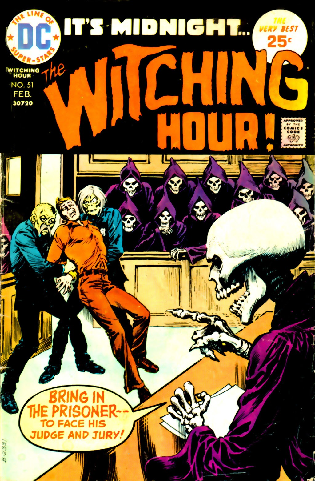 The Witching Hour (1969) issue 51 - Page 1