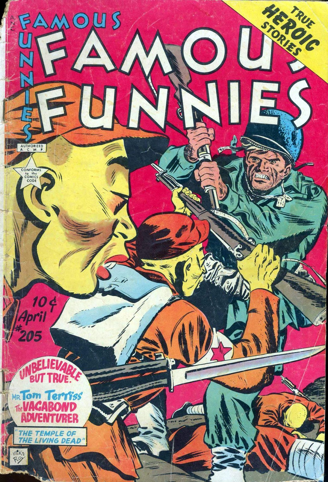 Read online Famous Funnies comic -  Issue #205 - 1