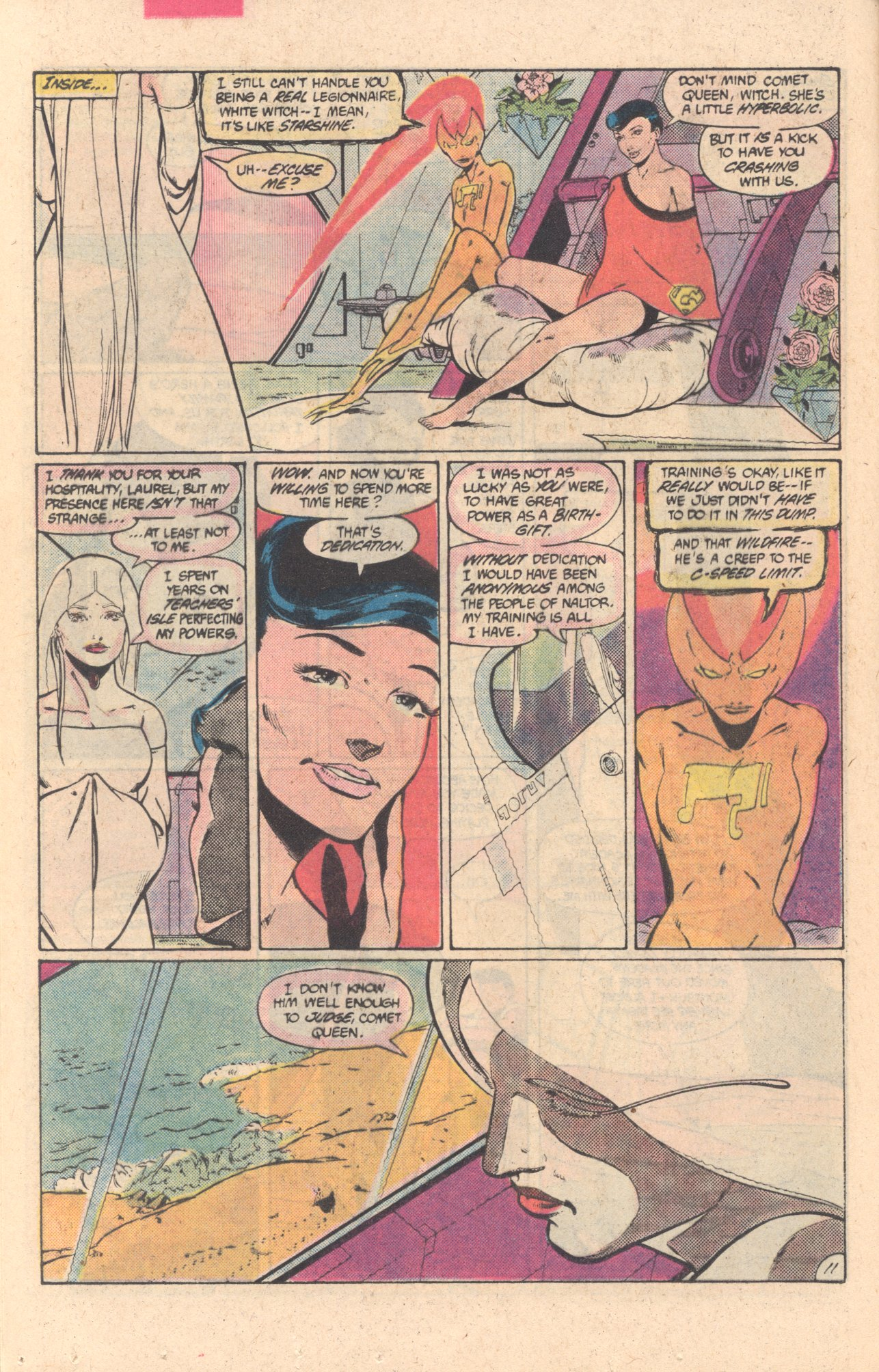 Legion of Super-Heroes (1980) 304 Page 11