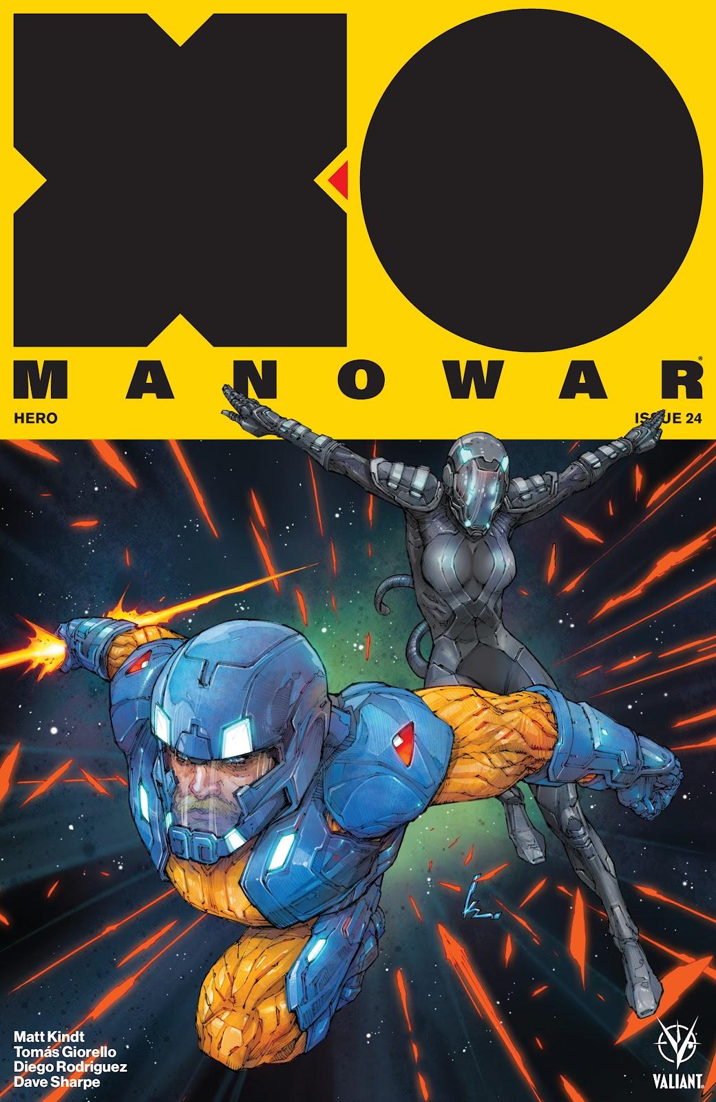 Read online X-O Manowar (2017) comic -  Issue #24 - 1