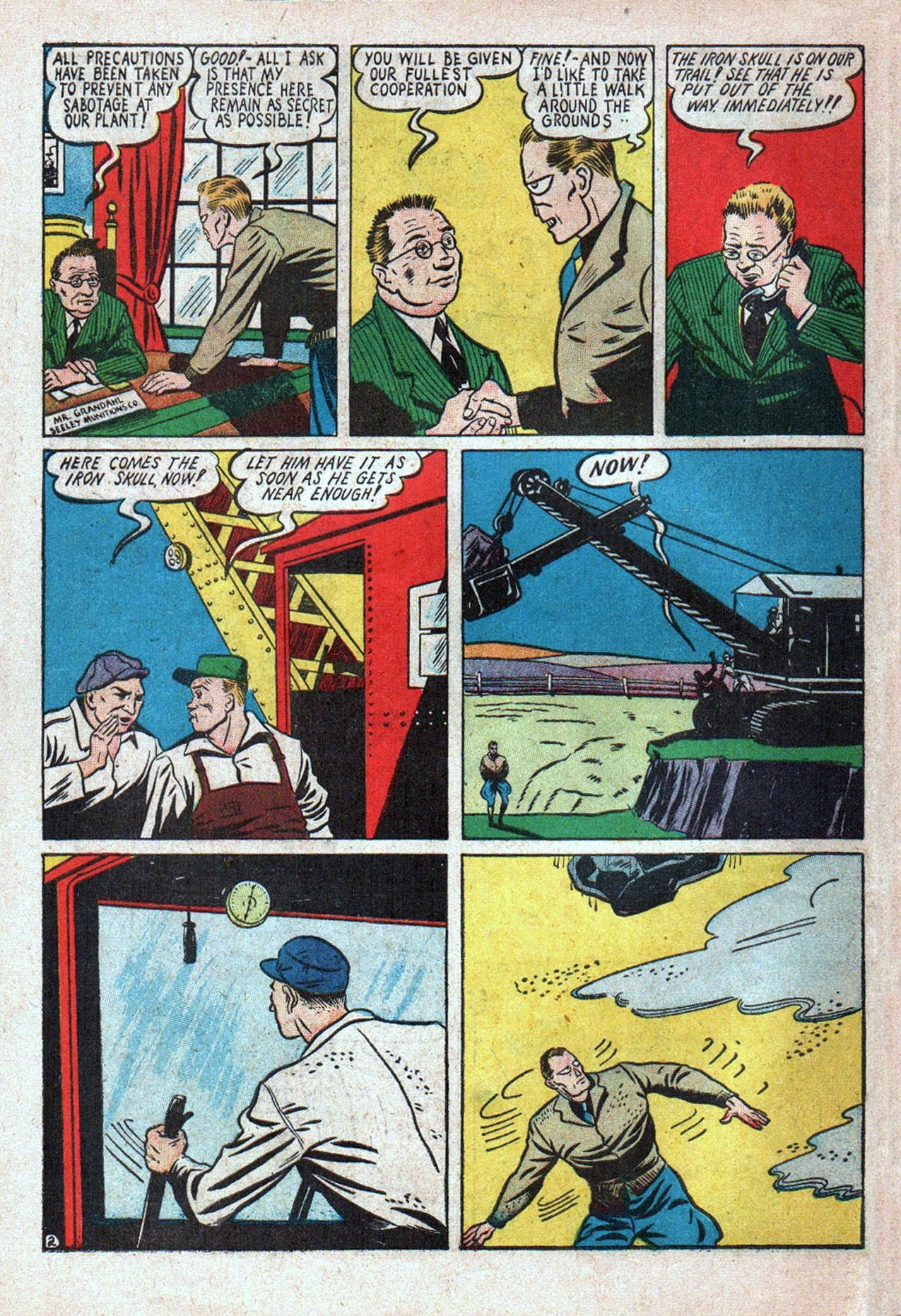 Read online Amazing Man Comics comic -  Issue #20 - 59