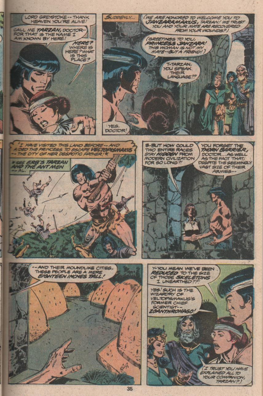 Read online Tarzan (1977) comic -  Issue # _Annual 3 - 26