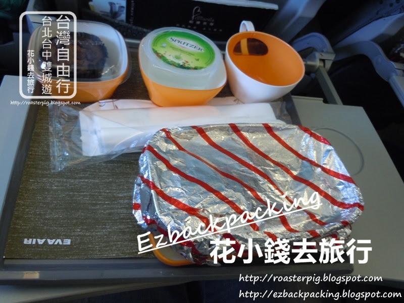 長榮航空-香港去台北飛機餐早餐