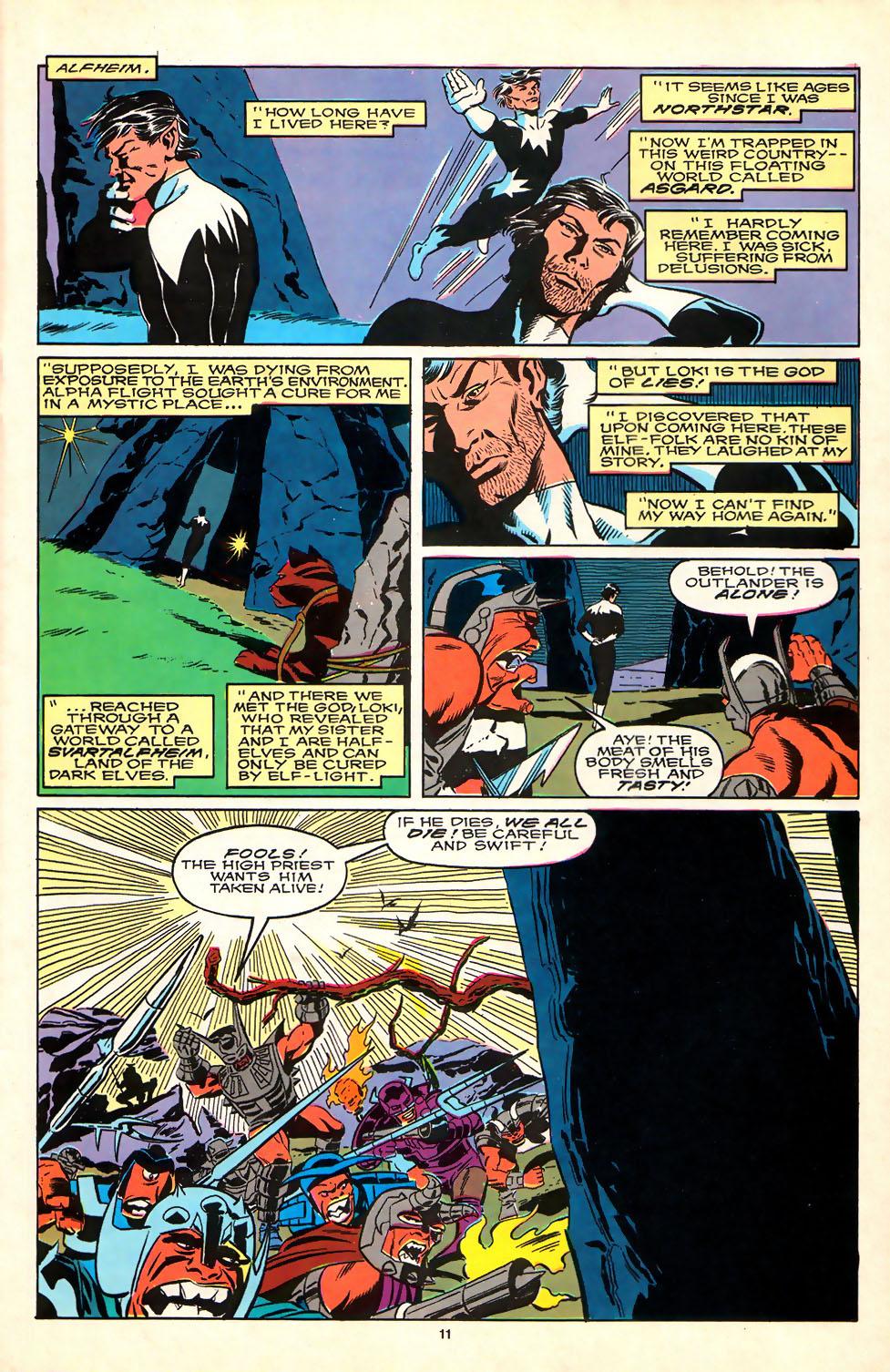 Read online Alpha Flight (1983) comic -  Issue #81 - 9