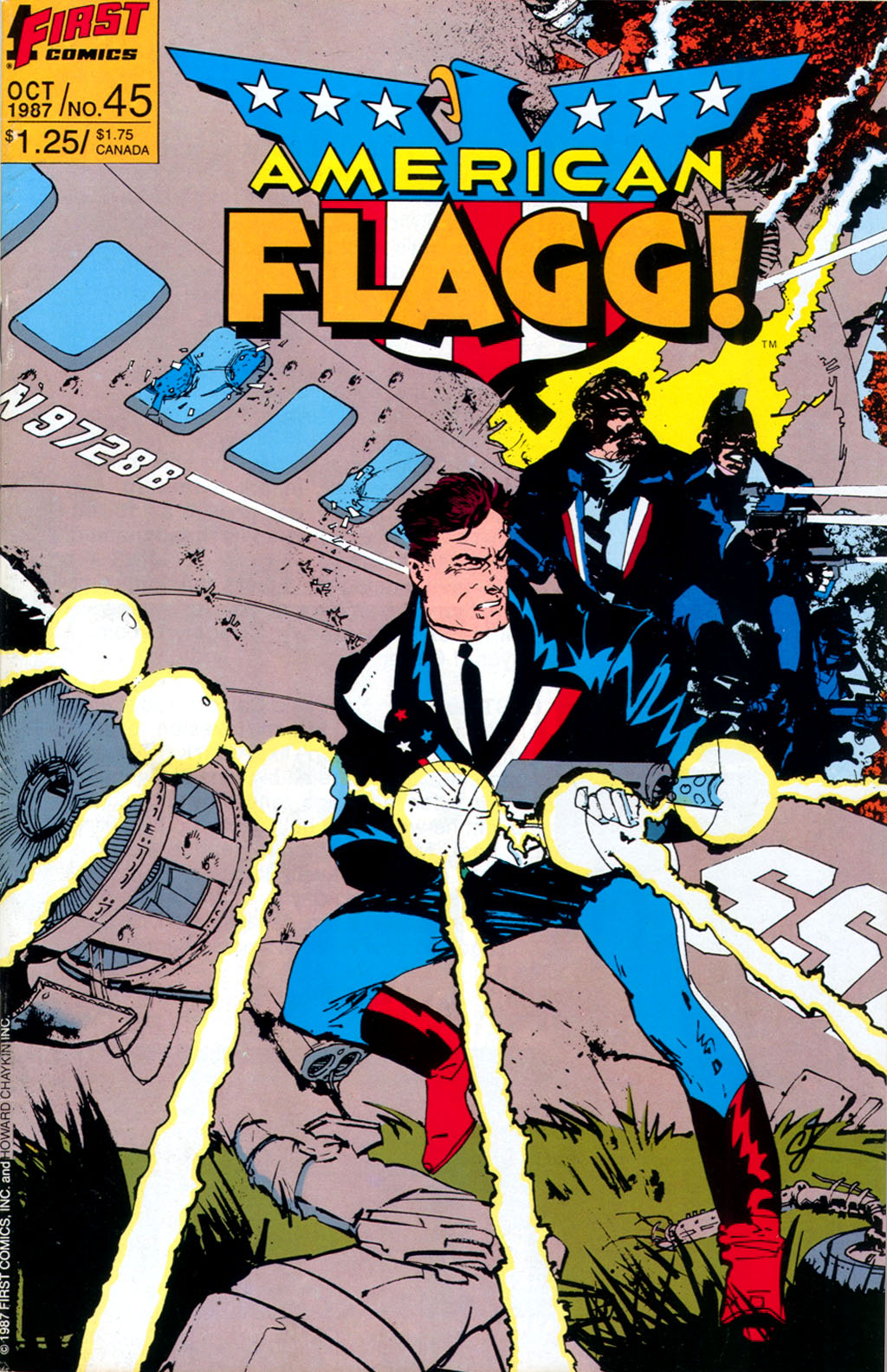 Read online American Flagg! comic -  Issue #45 - 1