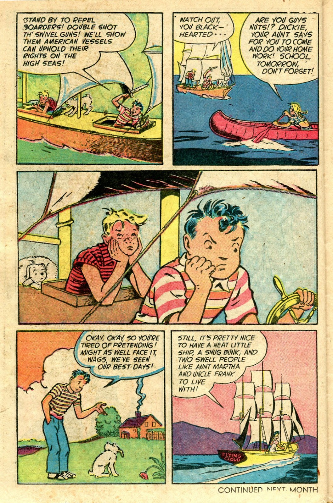 Read online Famous Funnies comic -  Issue #160 - 34