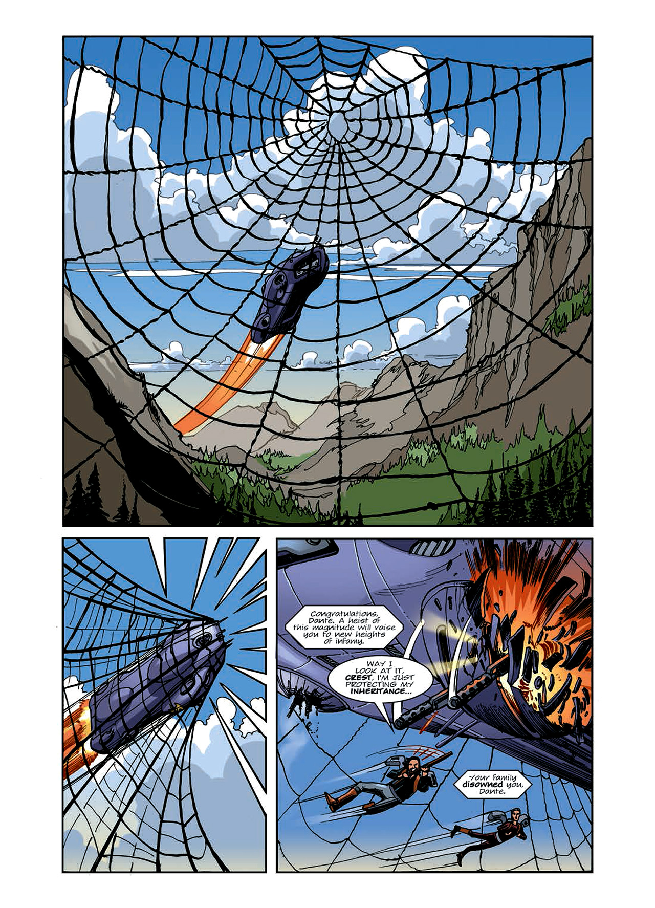 Read online Nikolai Dante comic -  Issue # TPB 6 - 51