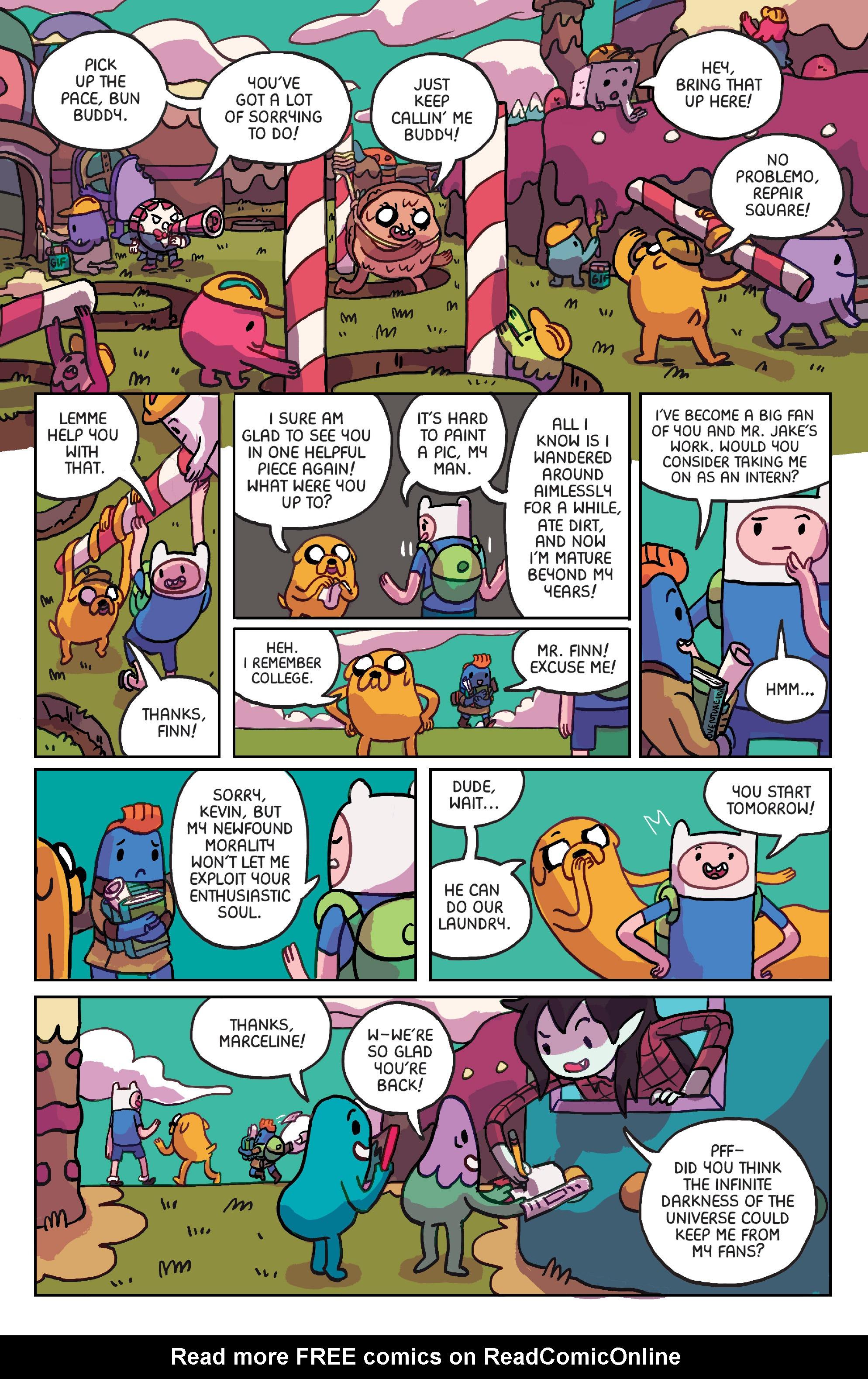 Read online Adventure Time: Marceline Gone Adrift comic -  Issue #6 - 22
