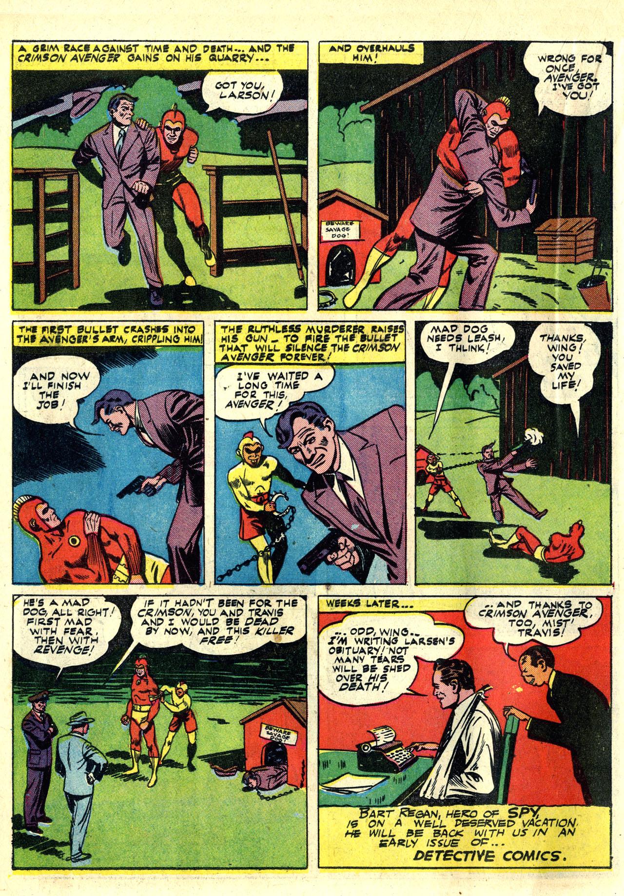Read online Detective Comics (1937) comic -  Issue #78 - 34