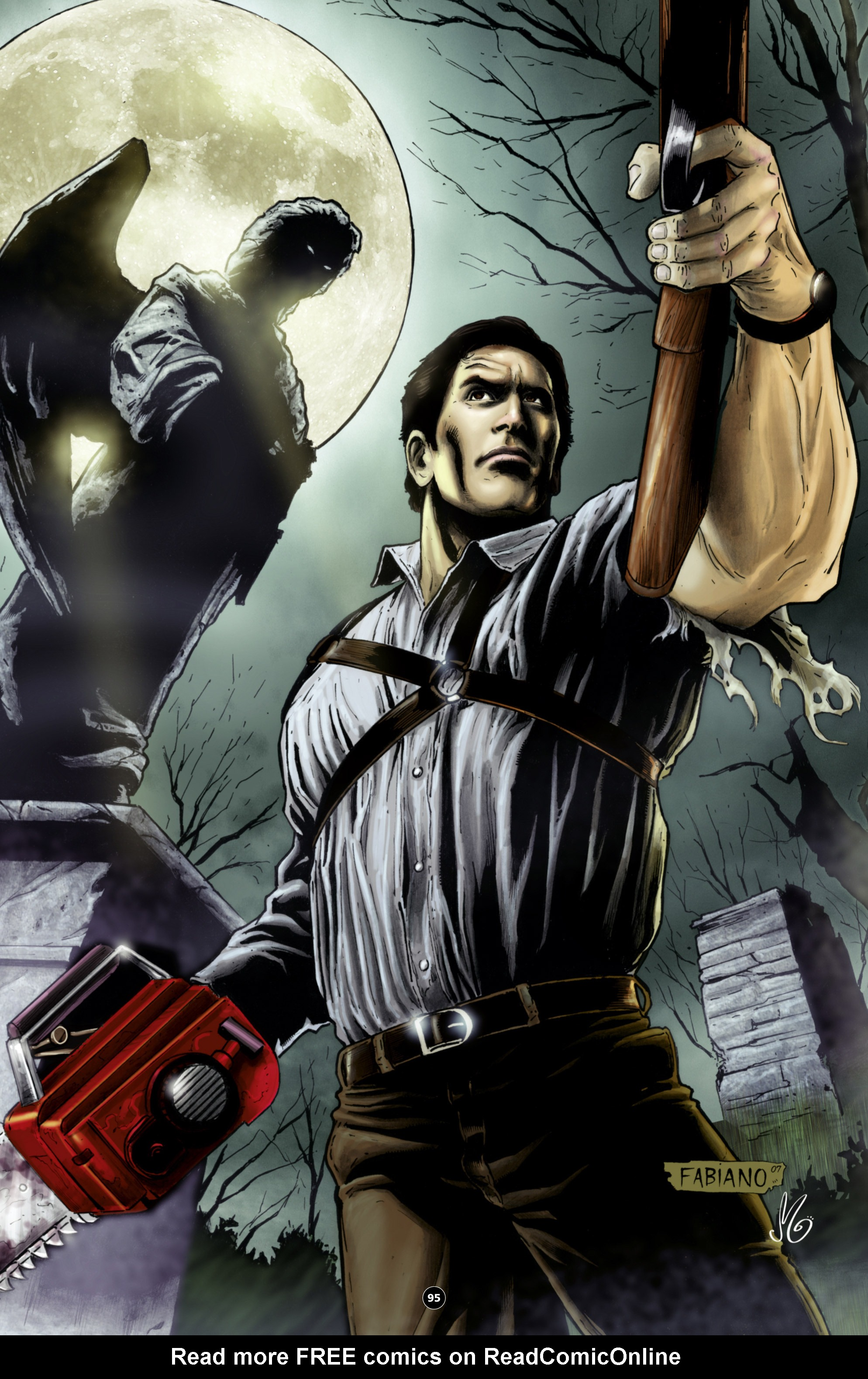 Read online Army of Darkness: The Long Road Home comic -  Issue #Army of Darkness: The Long Road Home TPB - 108