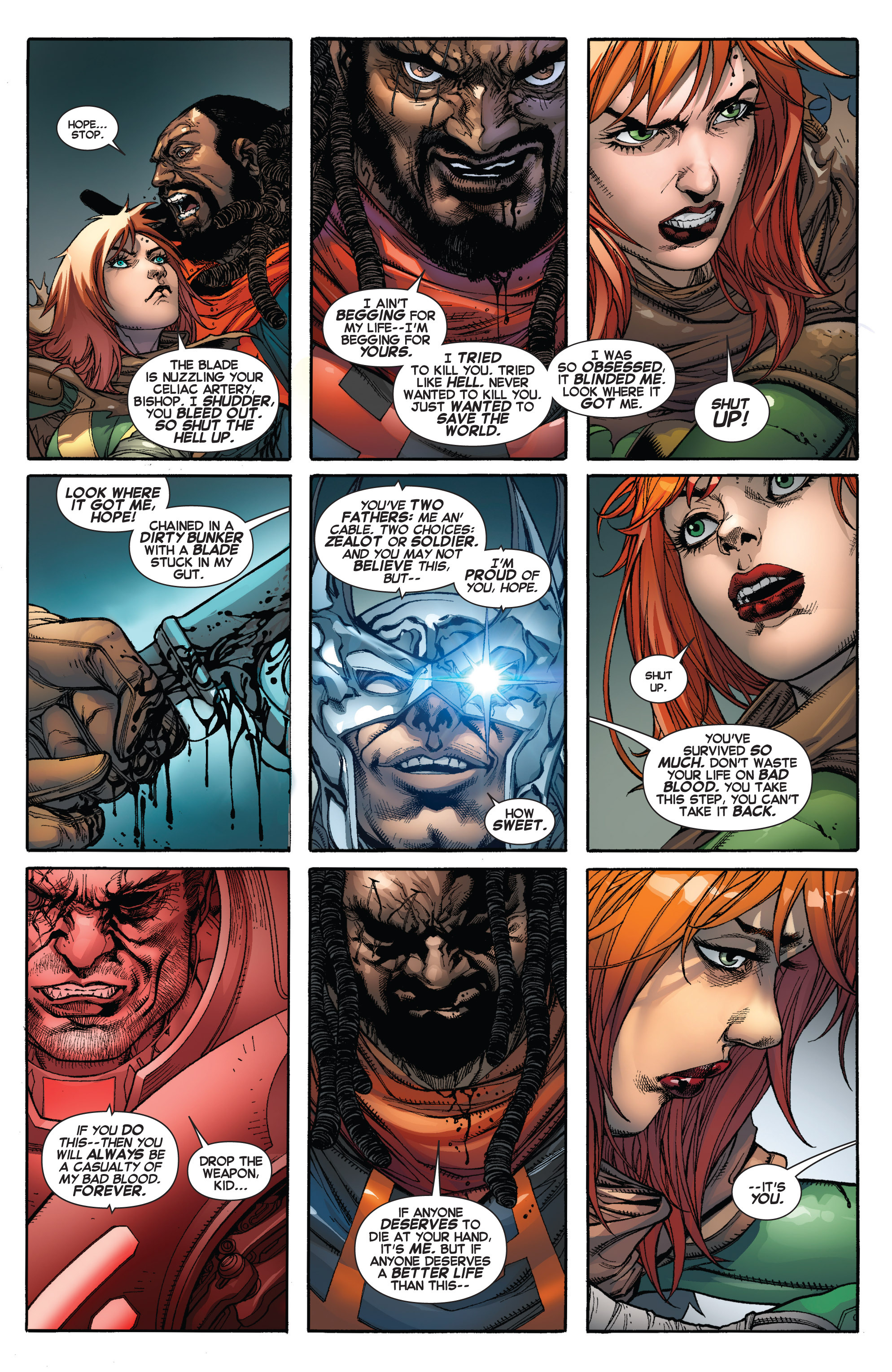 Read online Uncanny X-Force (2013) comic -  Issue #17 - 5
