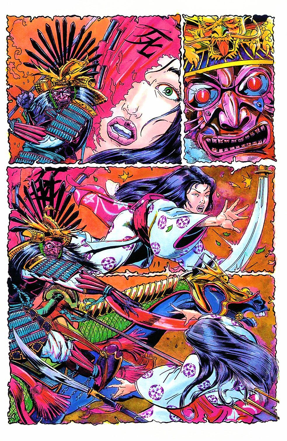 Read online Shi: The Way of the Warrior comic -  Issue #2 - 8