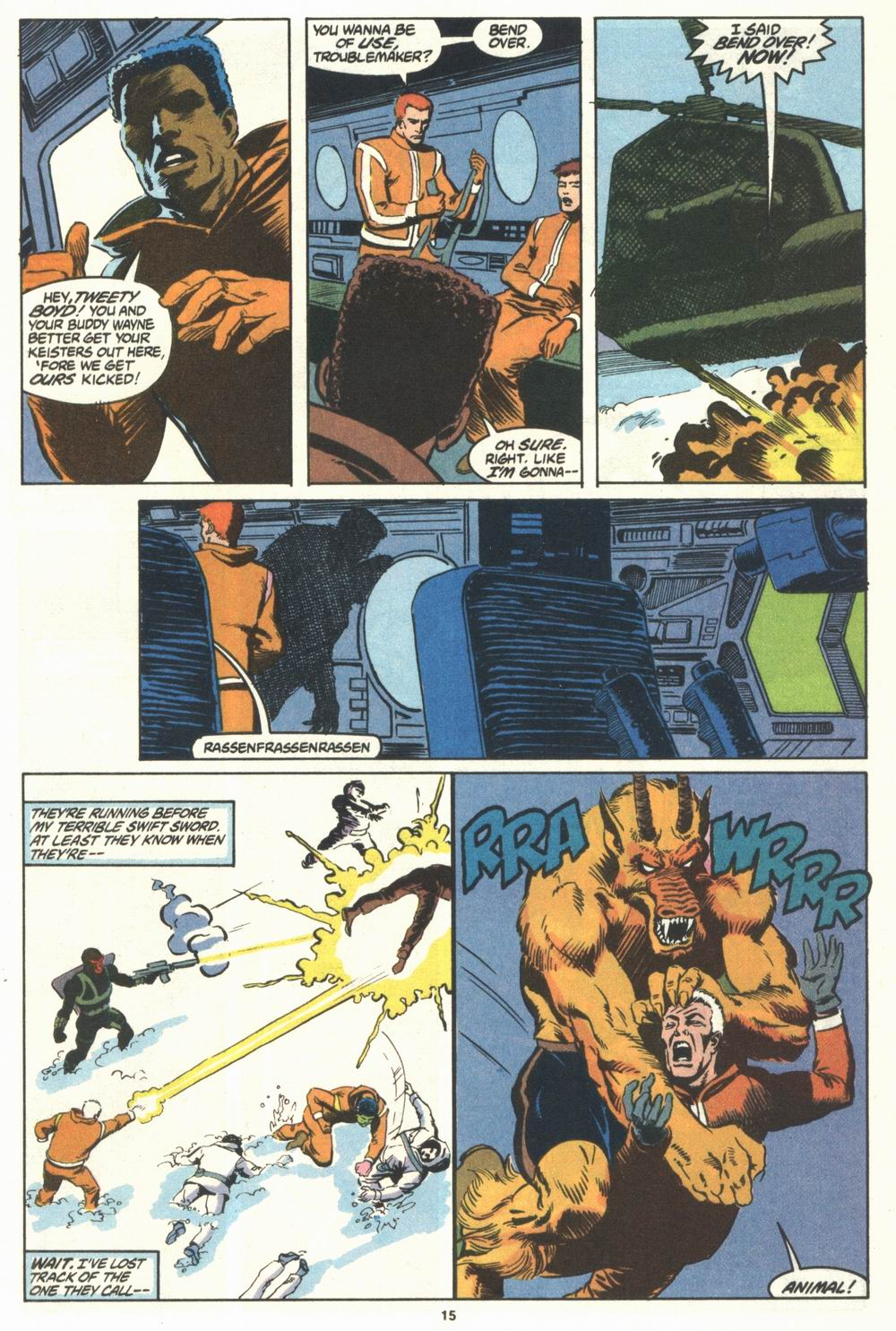 Read online Justice (1986) comic -  Issue #29 - 16