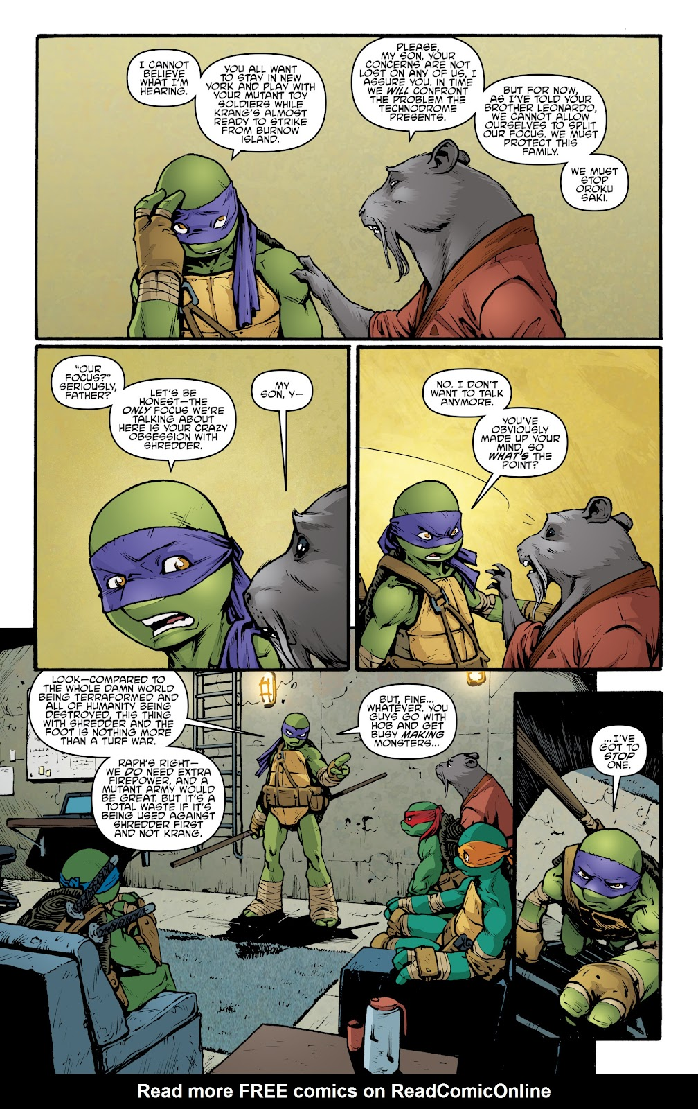 Read online Teenage Mutant Ninja Turtles: The IDW Collection comic -  Issue # TPB 5 (Part 2) - 12