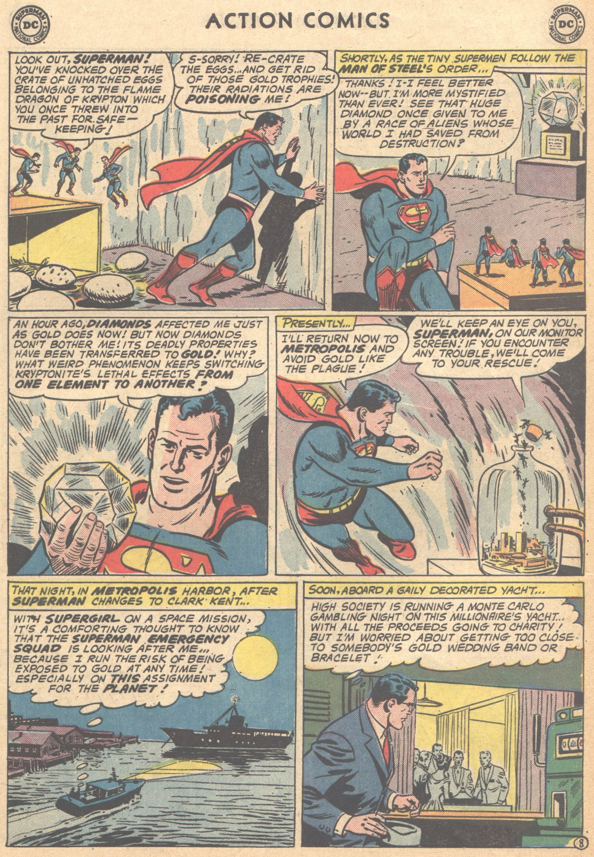 Read online Action Comics (1938) comic -  Issue #291 - 10