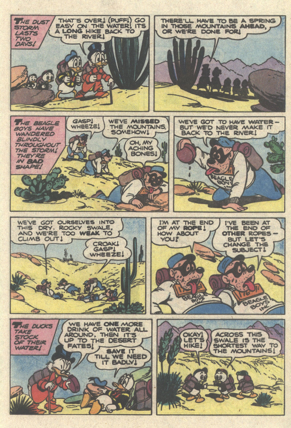 Read online Uncle Scrooge (1953) comic -  Issue #217 - 21