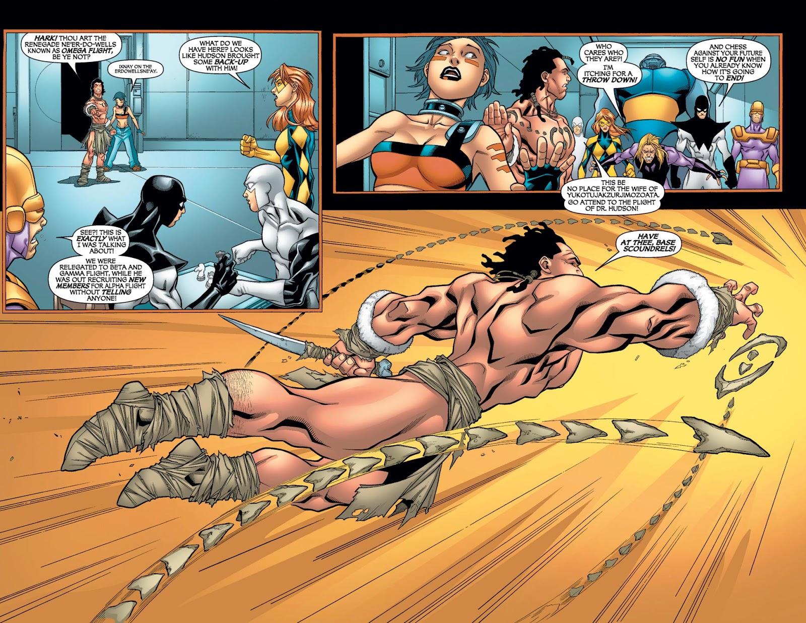 Alpha Flight (2004) issue 11 - Page 10