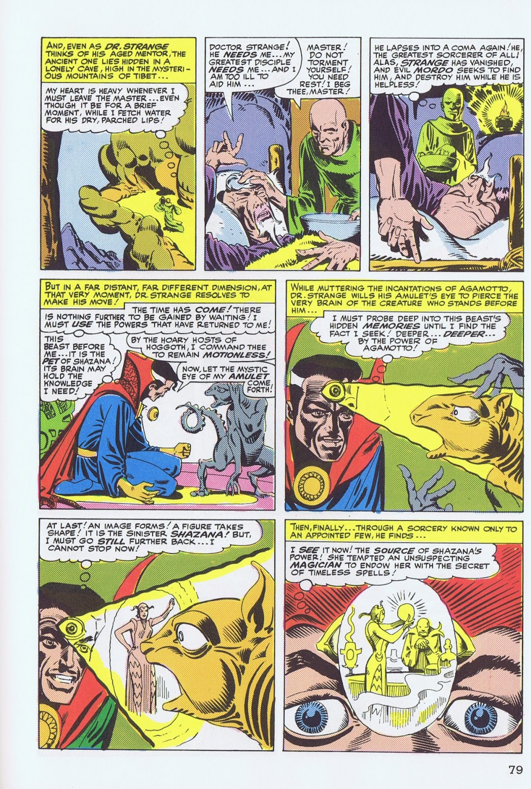 Doctor Strange: Master of the Mystic Arts issue TPB - Page 75
