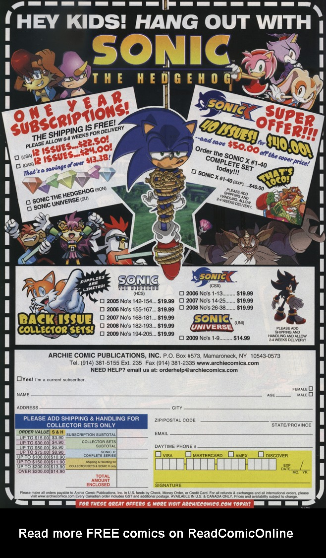 Read online Sonic Universe comic -  Issue #34 - 32