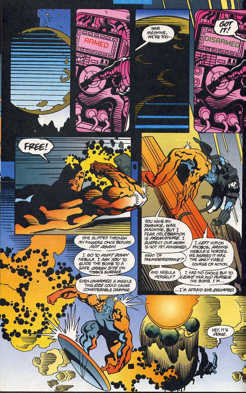 Read online Secret Defenders comic -  Issue #10 - 17