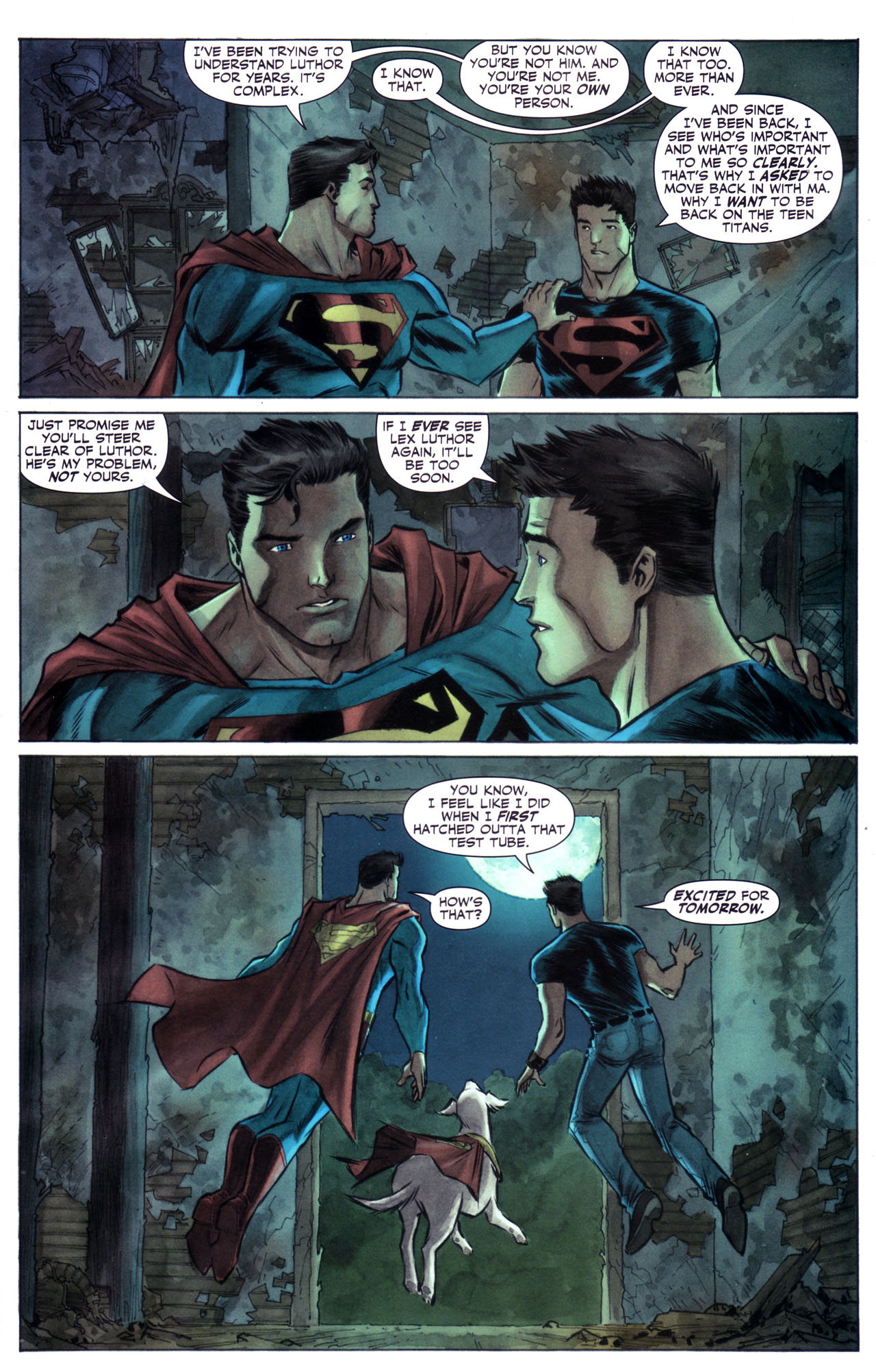 Read online Adventure Comics (2009) comic -  Issue #1 - 20