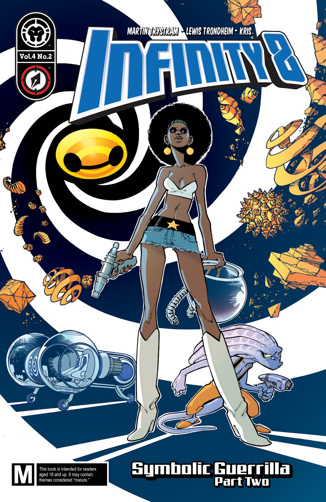 Read online Infinity 8 comic -  Issue #11 - 1