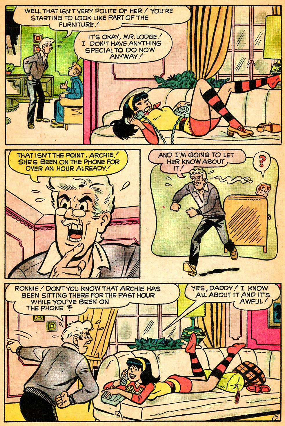 Read online Archie's Girls Betty and Veronica comic -  Issue #218 - 21