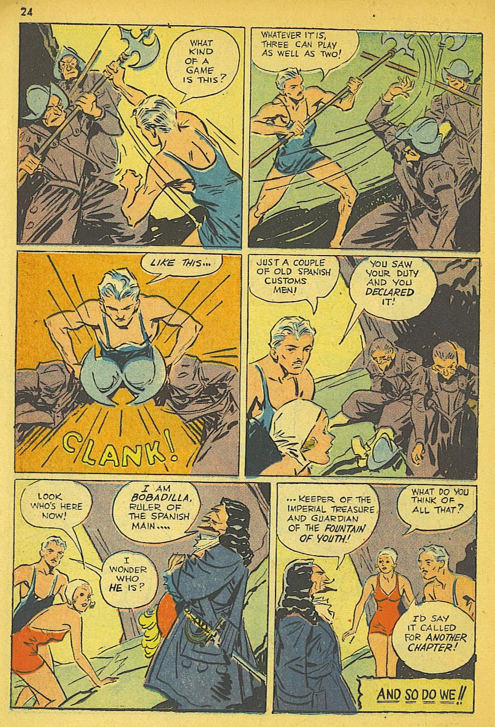 Read online Super-Magician Comics comic -  Issue #19 - 24