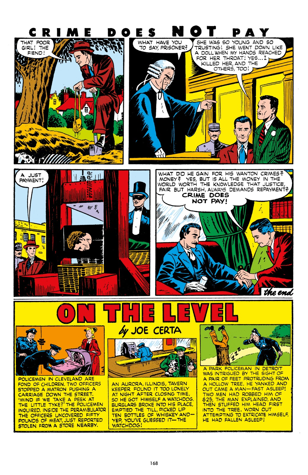Read online Crime Does Not Pay Archives comic -  Issue # TPB 7 (Part 2) - 70