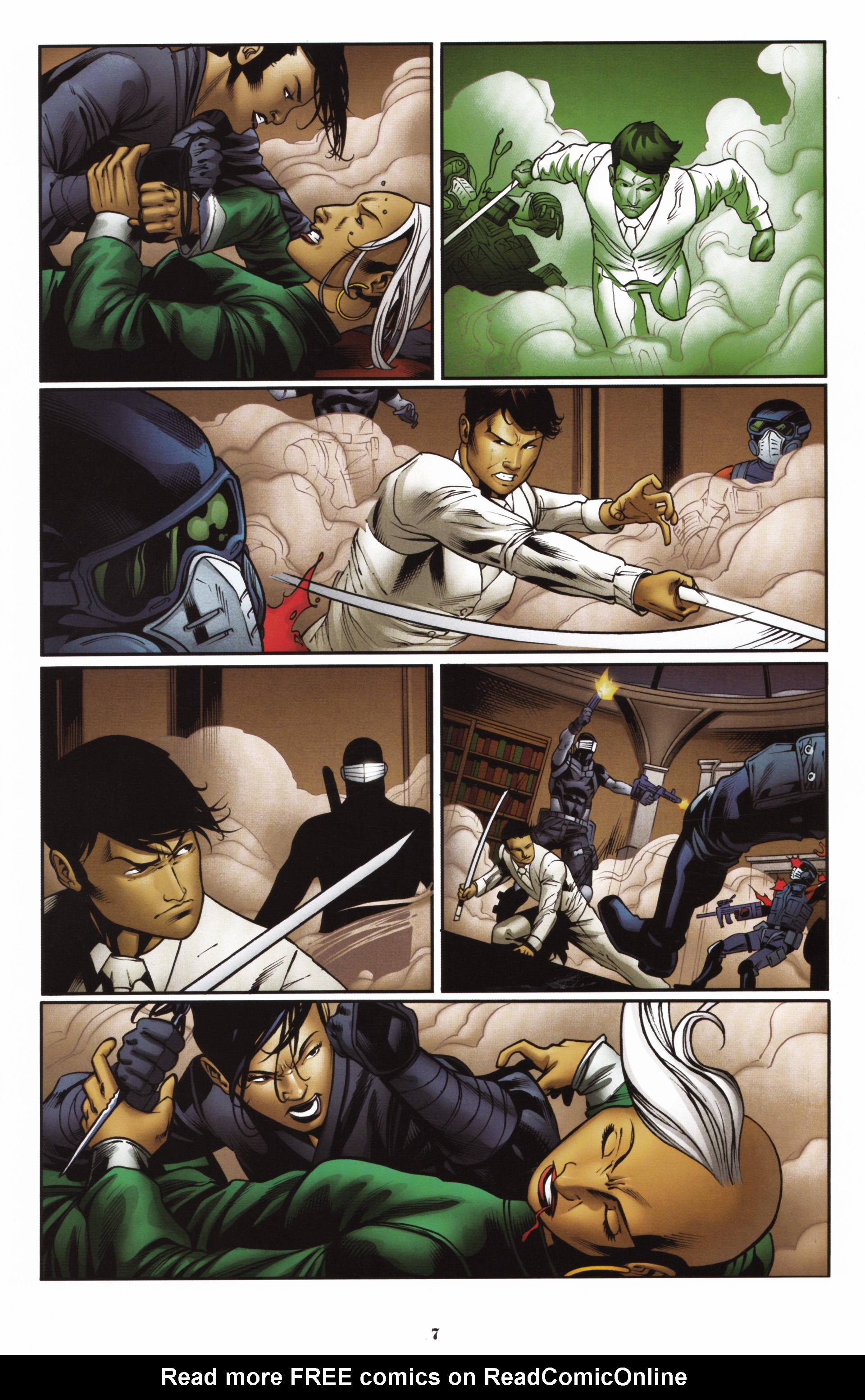 Read online Snake Eyes and Storm Shadow comic -  Issue #16 - 9