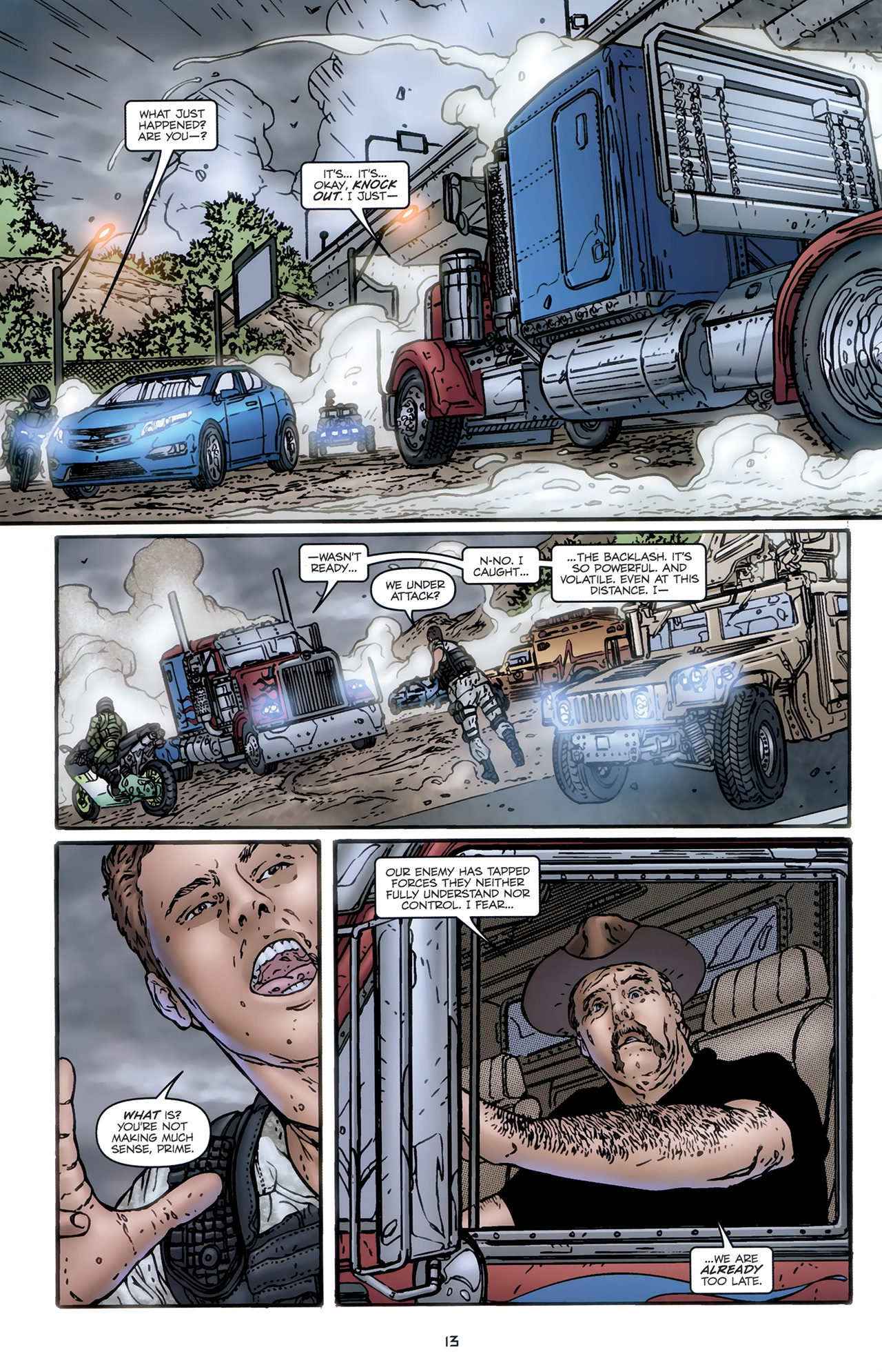 Read online Transformers: Nefarious comic -  Issue #5 - 16