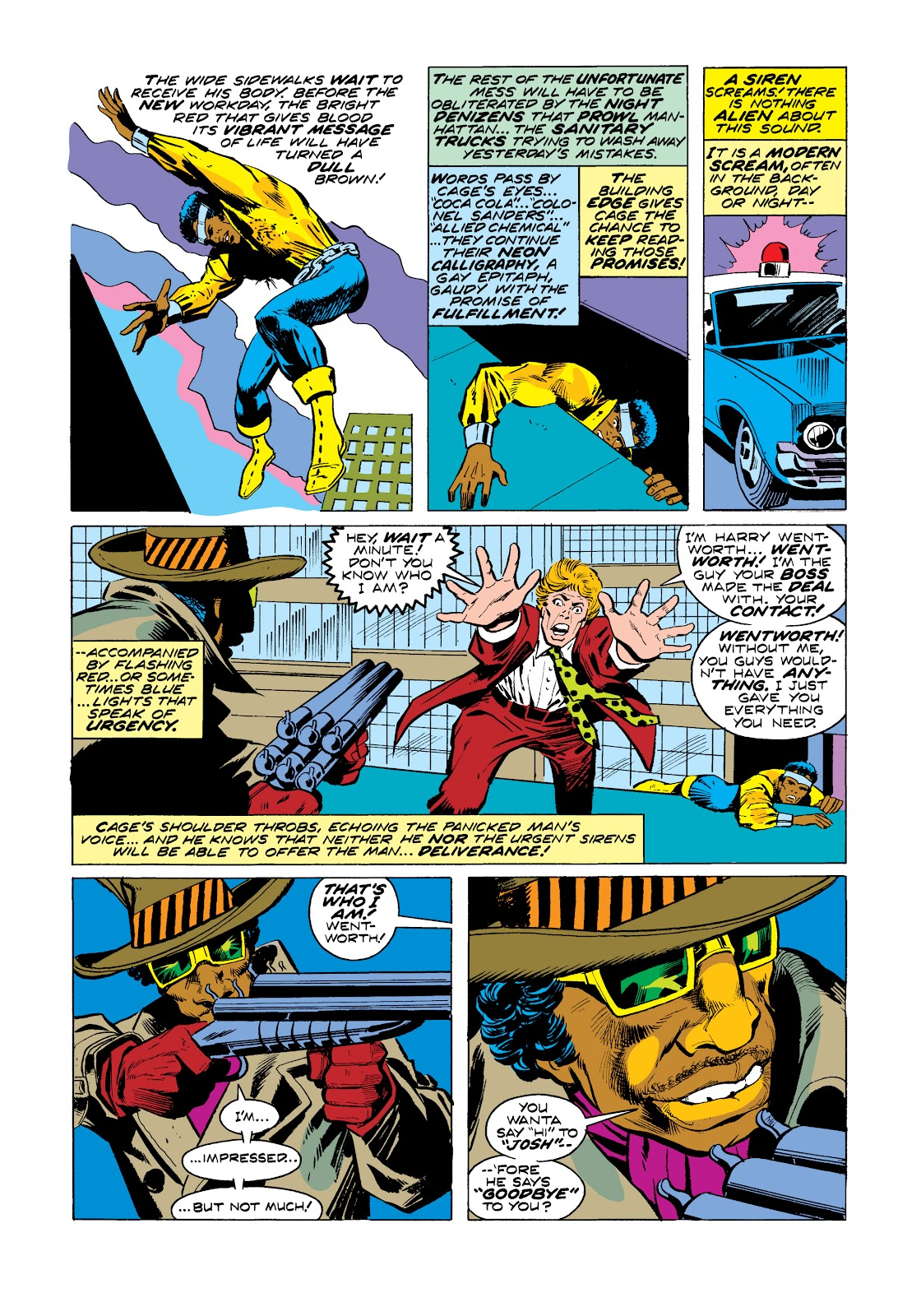 Read online Marvel Masterworks: Luke Cage, Power Man comic -  Issue # TPB 2 (Part 3) - 24