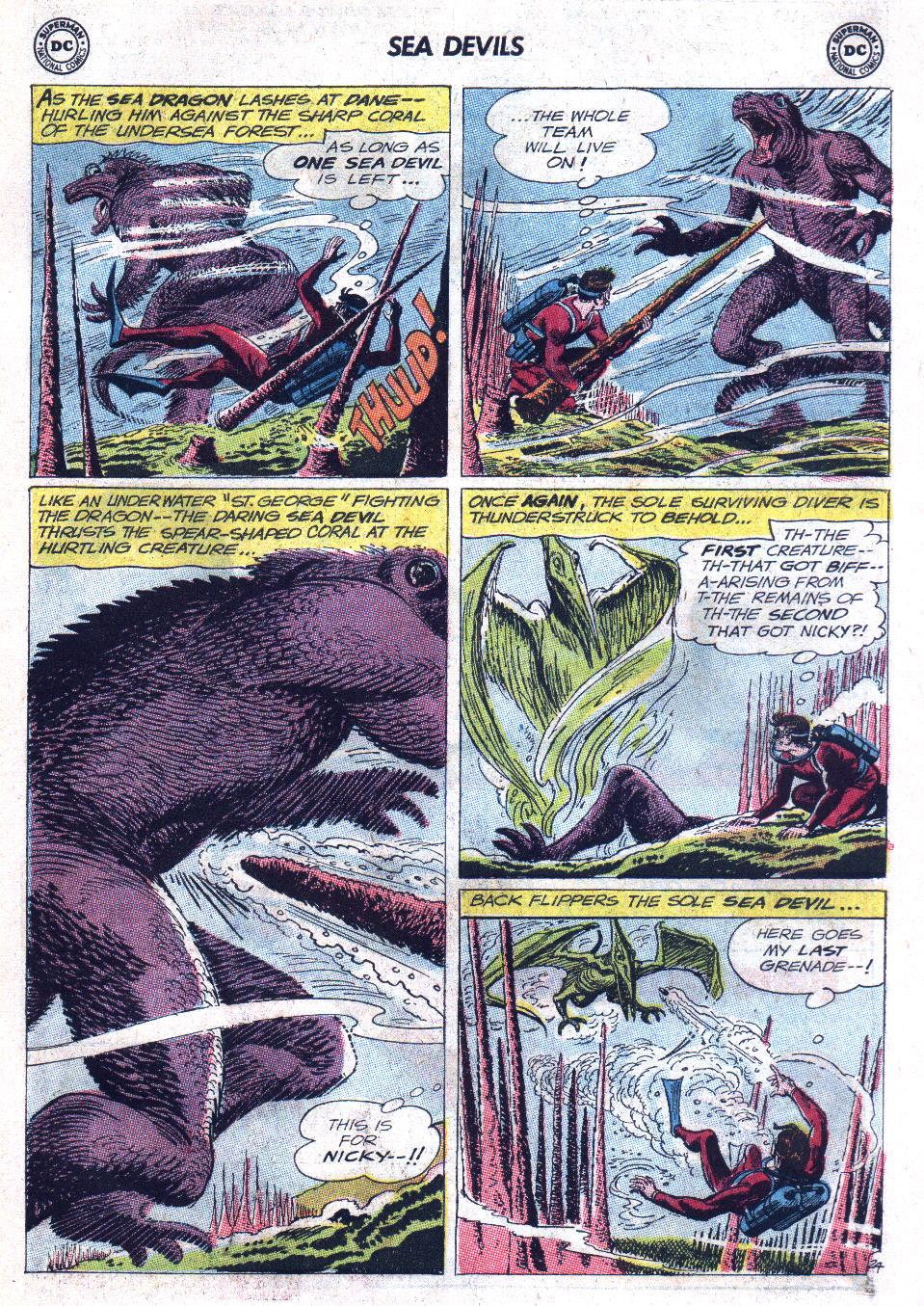Read online Sea Devils comic -  Issue #11 - 31