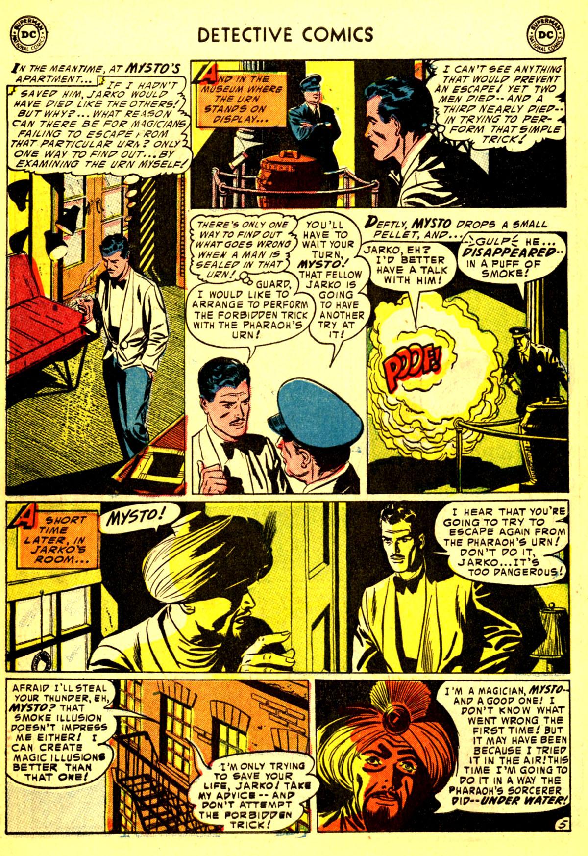 Read online Detective Comics (1937) comic -  Issue #211 - 38