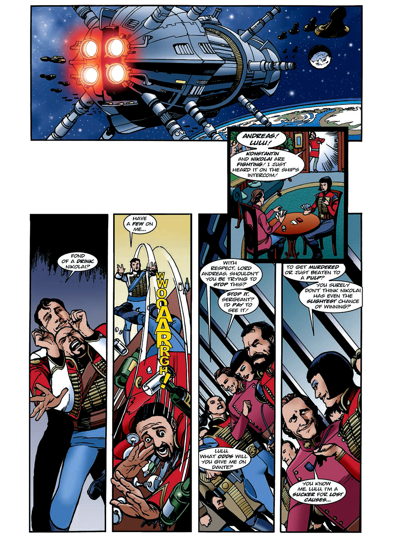 Read online Nikolai Dante comic -  Issue # TPB 4 - 114