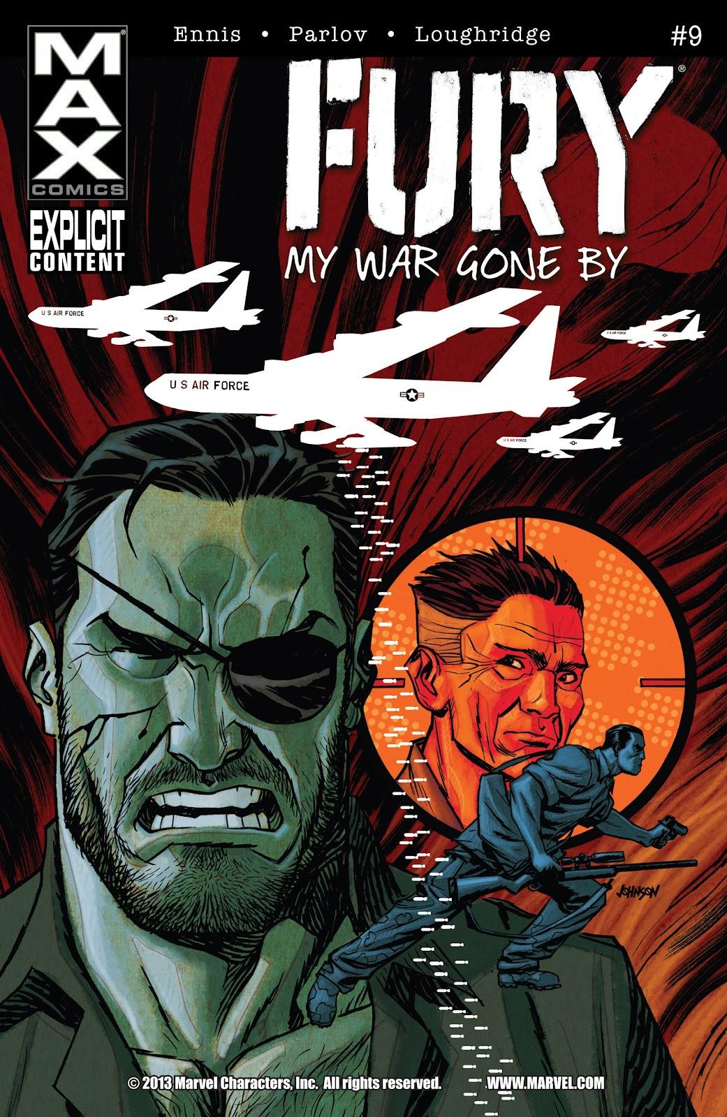 Comic Fury MAX issue 9