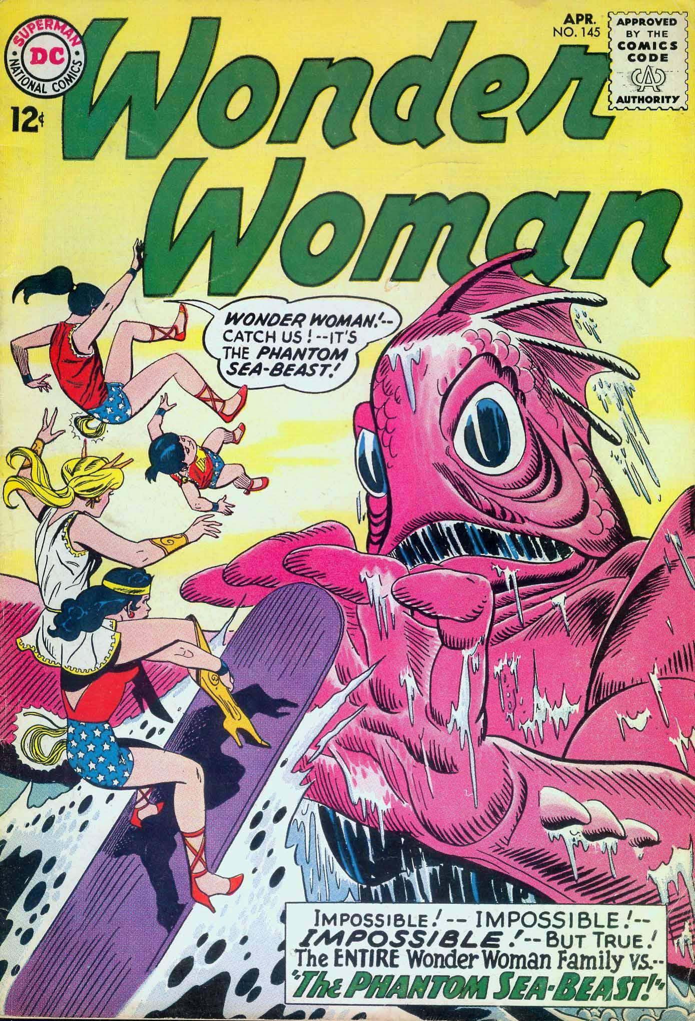Read online Wonder Woman (1942) comic -  Issue #145 - 1