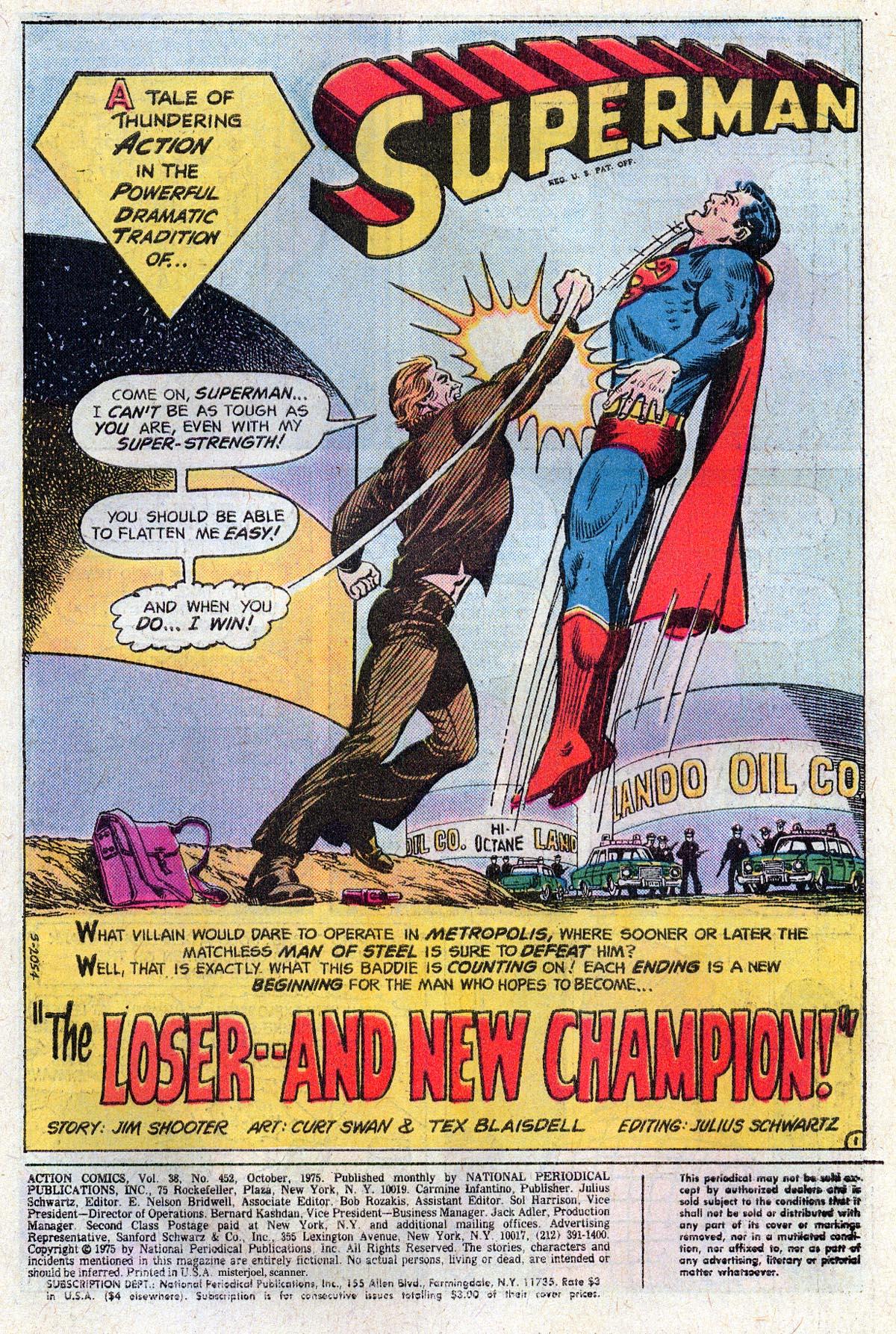 Action Comics (1938) 452 Page 1