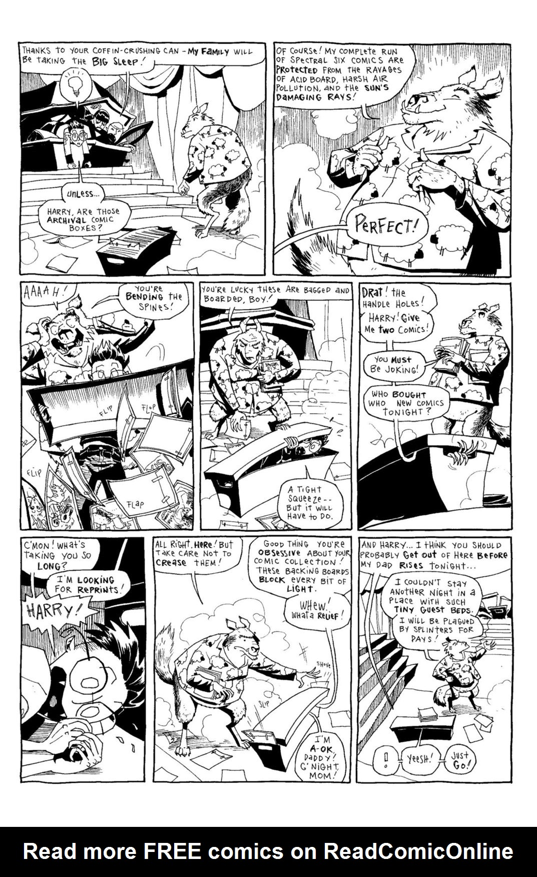 Read online Scary Godmother Comic Book Stories comic -  Issue # TPB - 93
