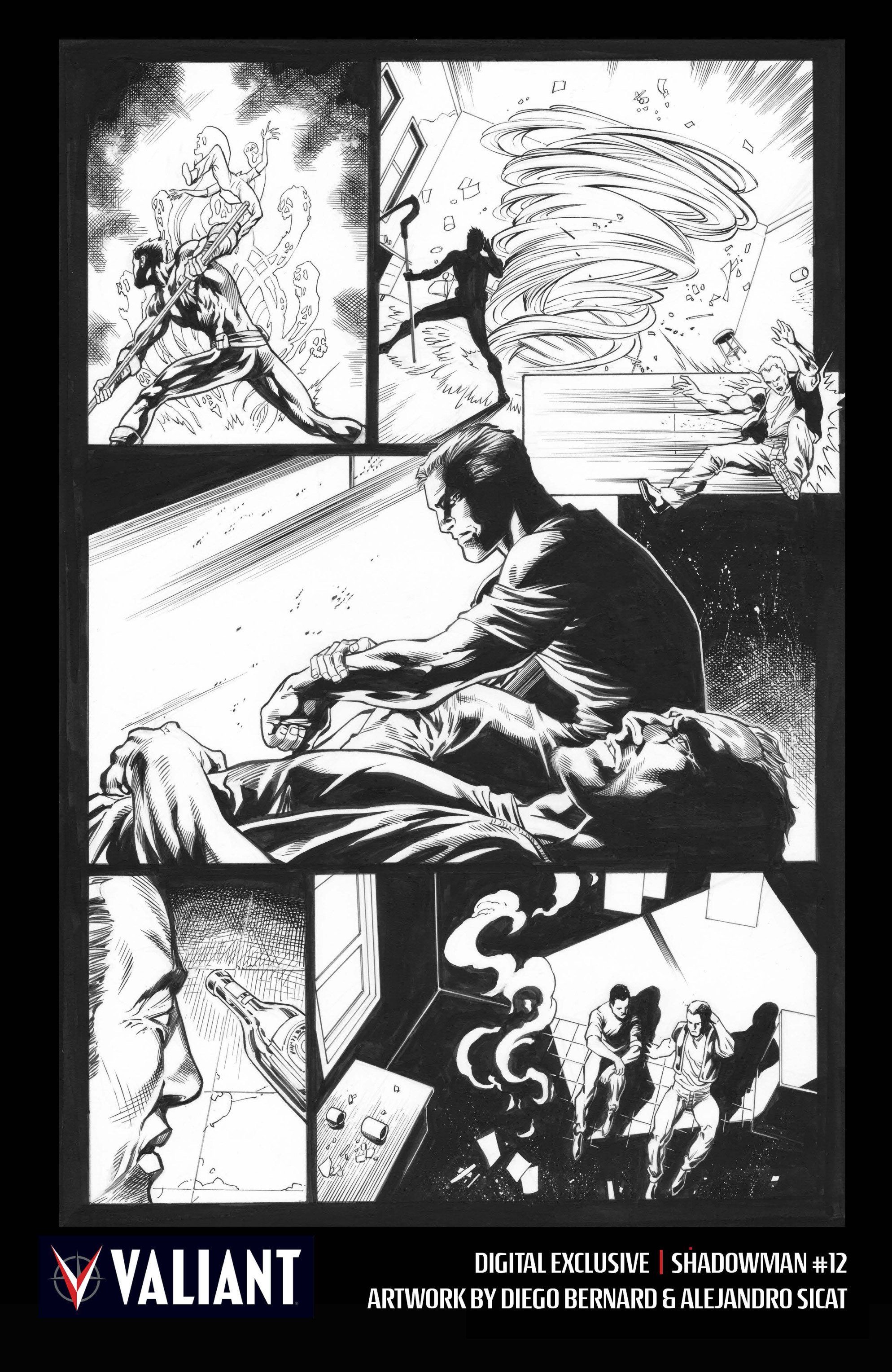 Read online Shadowman (2012) comic -  Issue #12 - 33