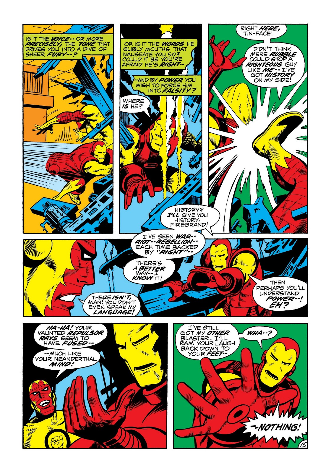 Read online Marvel Masterworks: The Invincible Iron Man comic -  Issue # TPB 8 (Part 3) - 3