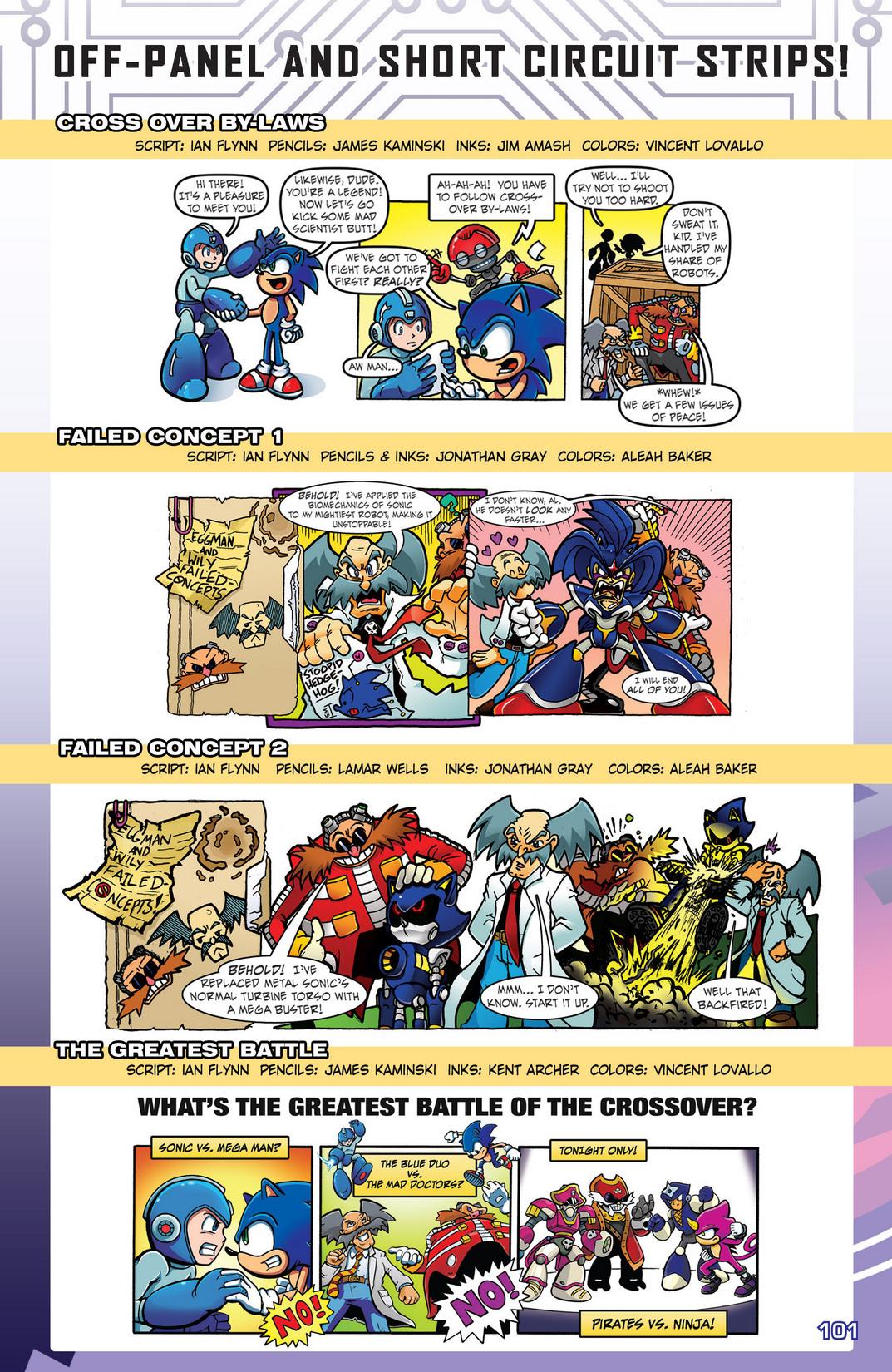 Read online Sonic Mega Man Worlds Collide comic -  Issue # Vol 2 - 119